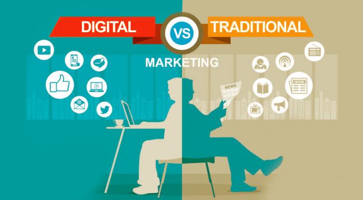 Sự khác nhau giữa Digital Marketing và Marketing truyền thống