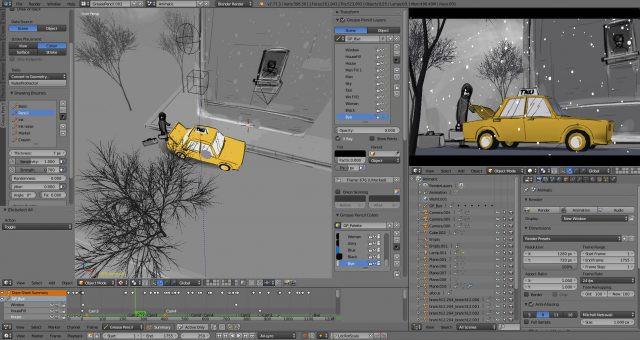 Phần mềm chỉnh sửa video blender