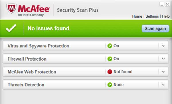 Làm thế nào để cài đặt McAfee Security Scan?