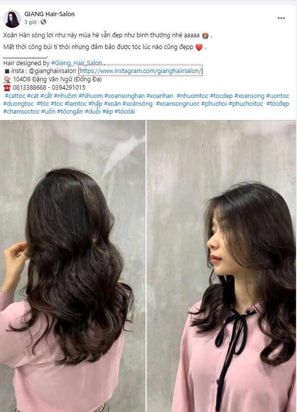Những bài quảng cáo hay về tóc hay nhất