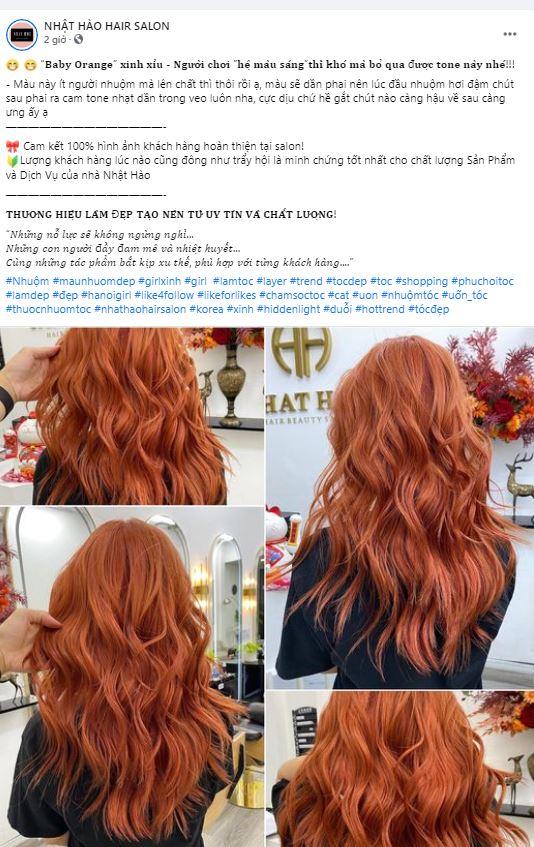 Những bài quảng cáo hay về tóc thu hút